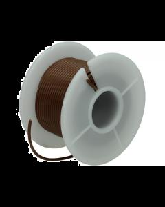 Montagesnoer / Lichtsnoer  0.75 mm²  Bruin 25 Meter (UNI-496252)