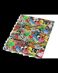 Stickerbomb stickervel 25x35cm (T4T-050261)