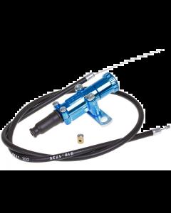 Chokeset Polini universeel met kabel 60cm blauw (POL-316.0012)