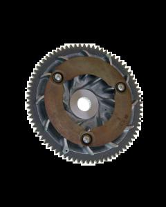Halfpoulie / Starterkrans - Piaggio 125 / 150cc 4 Takt - Origineel (PIA-845607)