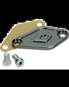Afdekplaat Oliepomp Doppler Derbi Senda / Minarelli AM6 staalgrijs (DOP-479559)