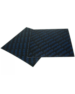 Membraanplaat vel Polini Carbon universeel lichtblauw 0.28 mm (POL-213.0604)
