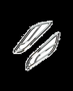 Knipperlicht roosters achter chroom Vespa Primavera en Sprint (DMP-38633)