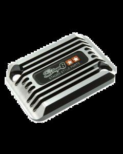 Rempot deksel Stage6 - Cooling Style - Yamaha Aerox - Zwart (S6-SSP101-2BZ/BK)
