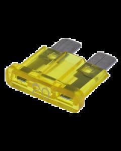 Steekzekering 20 Ampere geel (UNI-DG6300200)