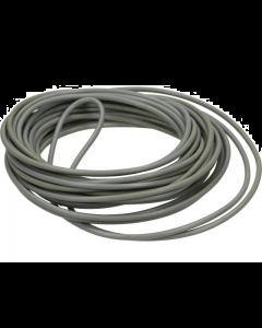 Montagesnoer / Lichtsnoer 0.5 mm² Grijs 5 Meter (UNI-91877)