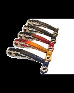 Kickstarterpedaal DMP - Flame - Gilera & Piaggio - Blauw (DMP-39216)