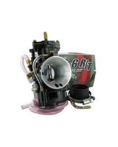Carburateur Stage6 34 mm Racing R/T MKII Black Edition PWK met powerjet (S6-31RT-PWK34)
