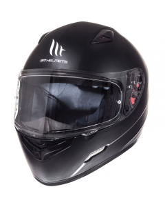 Helm MT Mugello Mat zwart Maat XS (MT-110300034)