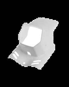 Koplampspoiler Gilera Citta / Puch Maxi wit (DMP-32625)