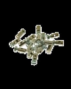 Schroefnippel - 6 x 9 mm (UNI-2341)