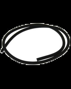 Benzineslang - 5 x 8 mm - Rubber - Zwart - 1 Meter (UNI-120274/1M)