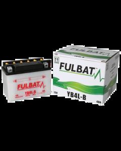 Accu Fulbat YB4L-B DRY 12V 4Ah (Inclusief zuurpakket) (FB-550590)