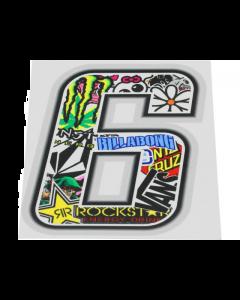 Stickerbomb sticker #6 10cm (T4T-050276)
