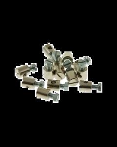 Schroefnippel - 8 x 9 mm (UNI-2017)