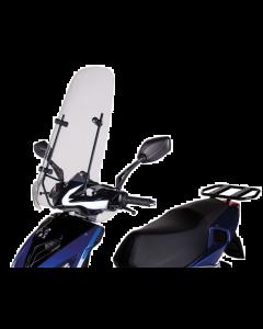 Windscherm Smoke Peugeot Speedfight 3 & 4 hoog origineel (PEU-A06102)