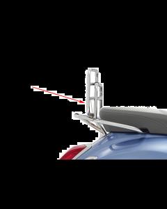Achterdrager opklapbaar Vespa Sprint en Primavera chroom (DMP-42999)