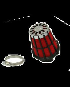 Luchtfilter Malossi E5 28mm schuin zwart open (MAL-0411299.50)
