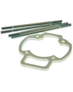 Ophoogplaat Polini - 5 mm - Inclusief Tapeinden - Gilera & Piaggio - Polini Evo (POL-170.1000)