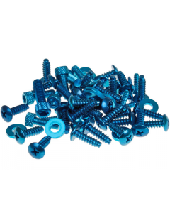 Beplatingschroefset TNT Yamaha Aerox blauw (TNT-171120)