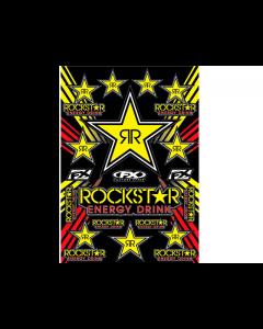 Stickerset Rocksatar Enery 18 delig 50 x 33 cm (15-68702)