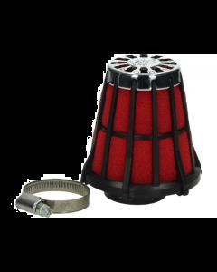 Luchtfilter Malossi E5 35mm recht zwart open (MAL-04 2419.50)