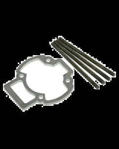 Ophoogplaat Stage6 - 5 mm - Inclusief Tapeinden - Gilera & Piaggio (S6-79140ET01)