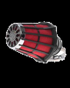Luchtfilter Malossi E5 38mm schuin zwart open (MAL-04 7593.50)