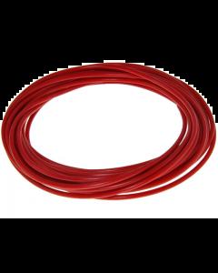 Montagesnoer / Lichtsnoer - 0.5 mm² - Rood - 5 Meter (UNI-88270)