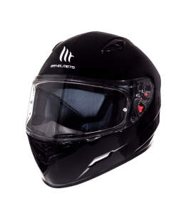 Helm MT Mugello Glans zwart Maat M (MT-110300025)