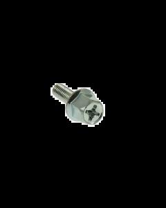 Uitlaatbout DMP - Zeskant + Kruiskop - RVS - M6 x 18 (Per stuk) (DMP-24797)