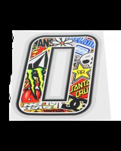 Stickerbomb sticker #0 10cm (T4T-050270)