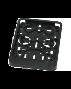 Kentekenplaathouder Belgie zwart (UNI-92849)