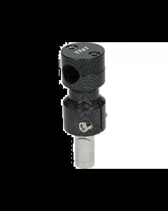 Stuurclamp TNT Gilera & Piaggio carbon (TNT-303325C)