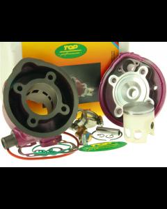 Cilinder Top Performances - 70 cc - Due Plus - Minarelli Horizontaal - Watergekoeld - Pen 10 (TOP-9912800)