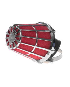 Luchtfilter Malossi E5 28mm schuin chroom open (MAL-0411299.K0)
