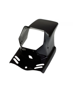 Koplampspoiler Gilera Citta / Puch Maxi zwart (DMP-32631)