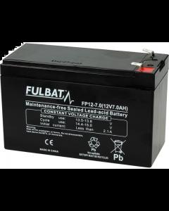 Accu Fulbat FP 12-7 Gel VRLA 12V 7Ah (FB-550909)
