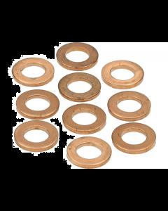 Koperenring 8x14mm 10 stuks (MOK-10152)