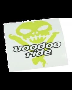 Voodoo Ride Sticker 11,5 x 11,5cm (VOO-STICKER1)