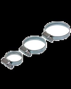 Slangklem - W2 RVS / Gegalvaniseerd 9 mm - 12-22 mm (UNI-123156)
