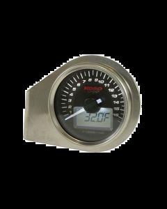 Toerenteller Temperatuurmeter Koso - Witte Verlichting en zelftest (KO-BA551W20)
