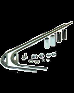 Windscherm bevestigingsset - Vespa LX - Hoog model - Origineel (PIA-602871M)