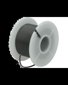 Montagesnoer / Lichtsnoer  0.75 mm²  Grijs 25 Meter (UNI-496253)