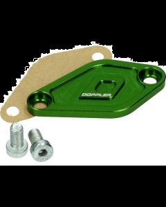 Afdekplaat Oliepomp Doppler Derbi Senda / Minarelli AM6 groen (DOP-484381)