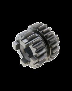 Tandwiel primaire versnelling 3e/4e Z=19/22 Minarelli AM6 50cc 2 Takt (PIA-AP8206608)