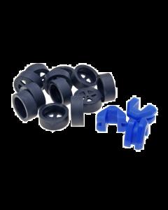 Rollen Hoesjes Polini 15x12mm inclusief variateurgeleiders (POL-242.027)