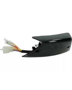 Achterlicht + knipperlichten Power1 Led Smoke Piaggio Zip 2000 (P1-15PI61)
