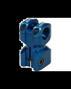 Stuurclamp Doppler Gilera & Piaggio blauw (DOP-451838)