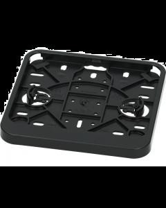 Kentekenplaathouder zwart liggend (UNI-125998)